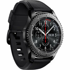 Samsung Gear S3 frontier SM-R760 Space grey Smartwatch Pulsuhr Wearable