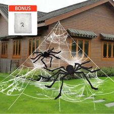 20/30'' Hairy Giant spider decoration Halloween prop huanted house decor party