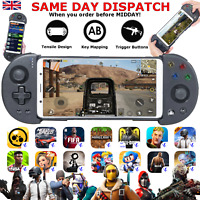 Wireless Bluetooth Game Mapping Controller Adjustable Handle Gamepad Mobile UK