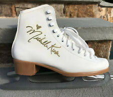 Michelle Kwan Signed Autographed Riedell Figure Skating Skates Womens Size 7