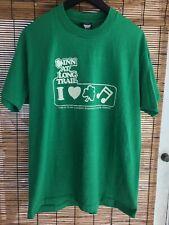 Vintage Inn At Long Trail T-Shirt Mens Xl Vt Single Stitch Screen Stars Vermont