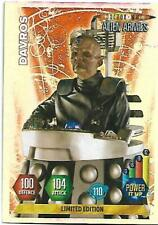 Doctor Who Alien Armies Limited Edition Davros - PANINI  - RARE