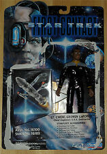 Loose Star Trek First Contact Lt Cmdr Geordi LaForge Playmates 1996 with card