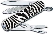 Victorinox Swiss Army Knife Classic SD Animal Print Zebra Great Gift 56225