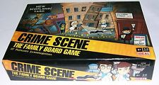 New Scotland Yard Crime Scene Board Game 100% Complete unused.