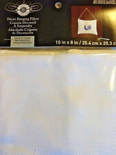 """NIP Loops & Threads Counted Cross Stitch Decor Hanging Pillow 10"""" X 8"""""""