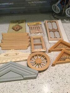 dollhouse miniatures 1:12 Architectural Components