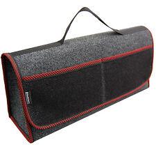 Kofferraumtasche Auto Tasche Zubehörtasche in ROT passend für Hyundai