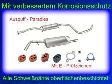 Abgasanlage Auspuffanlage Ford Escort VII 1.6 16V auch Cabrio (65KW / 66KW) +Kit