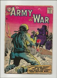 Our Army At War 67 Good 2.0 Sgt Rock Prototype 1958