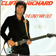 """7"""" Vinyl Record, Cliff Richard, The Only way Out, em5318"""