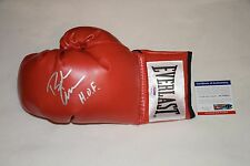 BOXING HOF BOB ARUM SIGNED AUTOGRAPHED LACED BOXING GLOVE PSA/DNA AC79321