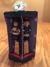 Joie de Vivre Christmas 4 Spreaders MSC International Santa Reindeer Snowman