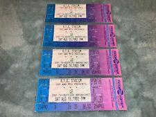 U2 4 Unused 1992 Tickets Zoo Tv Outside Broadcast Bono The Edge U 2 Larry Mullen