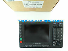2000-2005 Mercedes Benz ML NAVIGATION HEAD TAPE CASSETTE PLAYER RADIO GPS MCS