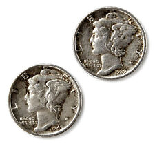 Genuine Mercury Dime Coin Cufflinks