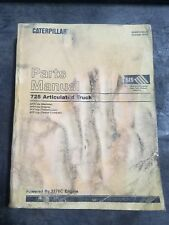 2000 CATERPILLAR 725 ARTICULATED TRUCK FACTORY PARTS CATALOG MANUAL SEBP3100-02