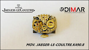 Movimento Jaeger-le-Coultre. K490.8 - Diametro 14.5X11.5mm REF.1376777