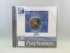 Playstation 1 PS1 PSX - Populous The Beginning NEW SEALED