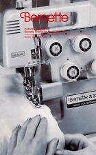 Bernina BERNETTE MO-335 SERGER INSTRUCTION Book / OPERATING MANUAL CD or DWNLD
