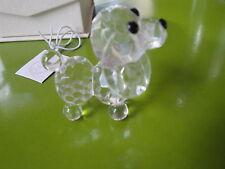 Crystal Collection Crystal Dog Figurine.