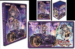 Yu-Gi-Oh! - I:P Masquerena set: Portfolio, Sleeves, Deck Box & Playmat PREORDER