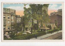 The Little Church Around The Corner New York City Vintage USA Postcard 510a