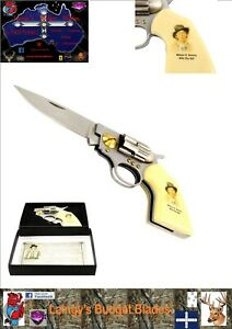 Billy The Kid Display Knife with Illustrated Box