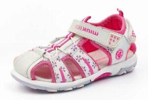 Mädchen Sandalen Kinder Schuhe Klettverschluß Größe von 21 bis 22.