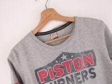 lu756 Hilfiger vaqueros heritage camiseta original Premium Vintage Descolorido