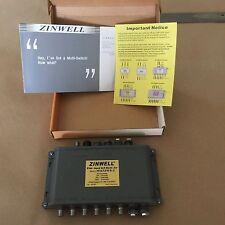 6x8 MultiSwitch DirecTV Dish Antenna Satellite 8 Receiver