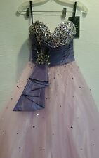 Disney Forever Enchanted Tulle Strapless Prom Pagent/Wedding dress Sz 0 -35592