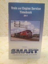 TRAIN and ENGINE SERVICE TIMEBOOK 2017