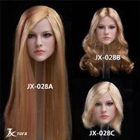 """JXTOYS 1:6 Scale singer Avril Head Sculpt F 12"""" Female Phicen/HT Figures JX-028"""