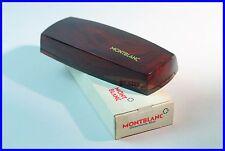 MONTBLANC um 1960 Geschenk ETUI für 2 Füller Kugelschreiber DEFEKT / box pens