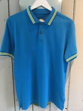 Ganesh Turquoise Polo Shirt, Large