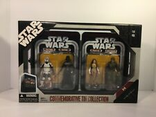 Star Wars Ep. VI Commemorative Tin Collection Action Figure Set 6 of 6 SEALED
