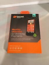 HTC EVO Design 4G - 4GB - Black (Boost Mobile) Smartphone