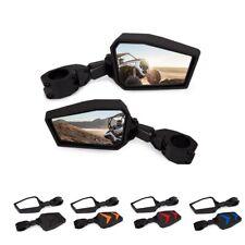 "Rear View Mirrors UTV Side Mirror 1.75"" For Polaris RZR Ranger Yamaha Rhinos"