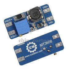 MT3608 Step Up Power Supply Module DC-DC 2V-24V to 5/9/12/28V 2A Boost Converter