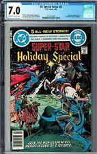 DC Special Series #21 CGC 7.0 (Apr 1980, DC) 1st Frank Miller Batman art Holiday