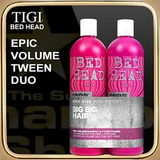EPIC VOLUME Shampoo Conditioner (2x750ml) BED HEAD TIGI Tween Duo