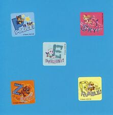 50 Paw Patrol Dogs Value Stickers - Everest, Skye, Rubble, Zuma, Chase