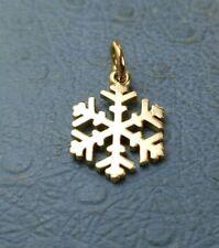 James Avery Retired 14k Snow Crystal Charm