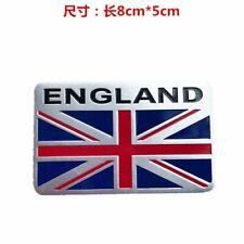 1x Charm 3D England English Mini Flag Aluminum Car Sticker Emblem Badge Decal