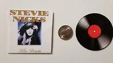 Miniature record album Barbie Gi Joe 1/6   Playscale  Stevie Nicks Blue Denim