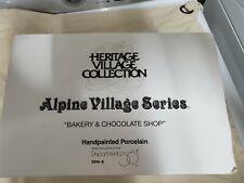 "Alpine Village Series ""Bakery & Chocolate Shop"""