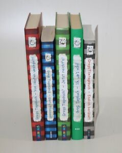 5x GREGS TAGEBUCH Band 1-4 + Filmtagebuch 3x gebunden 2x Taschenbuch Jeff Kinney