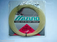 MIZUNO EAGLE TOURNAMENT NYLON TENNIS STRING 15L GAUGE 1.35MM MADE IN JAPAN 1 SET