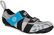 Bont Riot TR+ MicroFibre Triathlon Bike Shoes Pearl White/Black Size 43